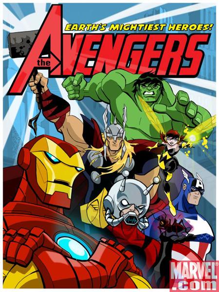 Avengers :1º e 2º Temporada (HDTV) (2010) Atualizado - Torrent