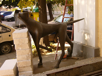 Greek Goddess Diana's Dog in Yambol