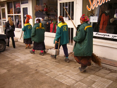 Yambol's Gypsy Street Cleaners