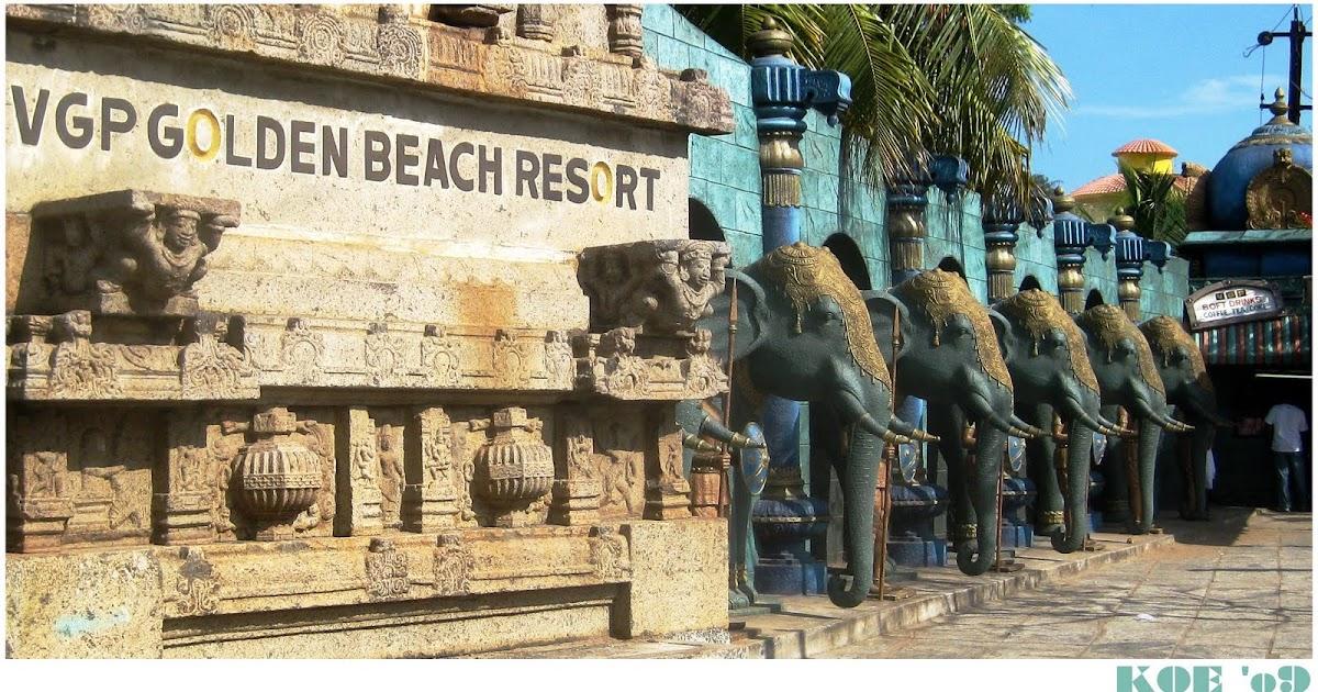 SIDE STREETS: VGP Golden Beach Resort, Chennai, India