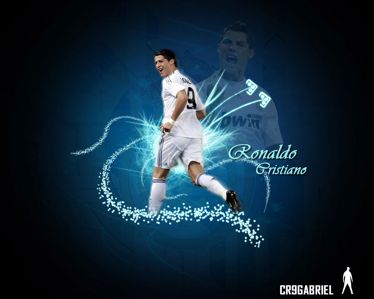 Koleksi Wallpaper Cristiano Ronaldo Di Real Madrid Wallpaper