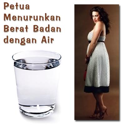 Petua Petua Menurunkan Berat Badan Air
