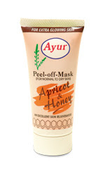 Ayur apricot and honey peel-off face mask