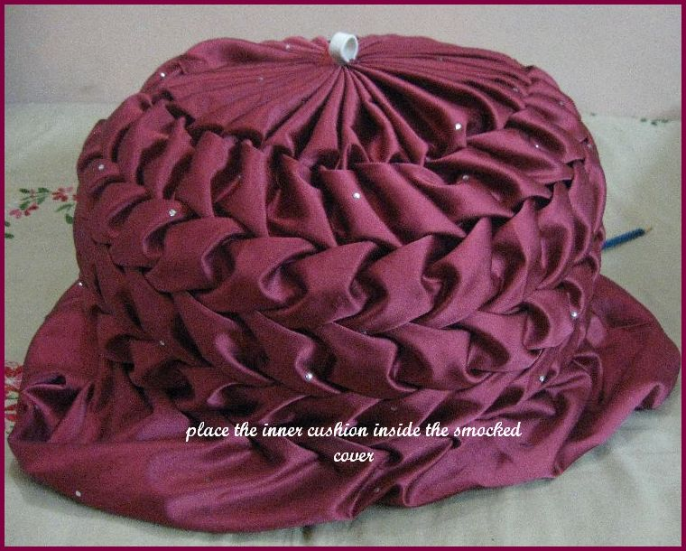 Vani's Blog 40 The Method Of Making Round Cushion Part 40 Magnificent Round Pillow Cover Tutorial