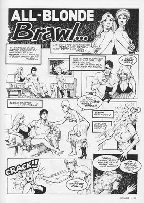 female fight comics
