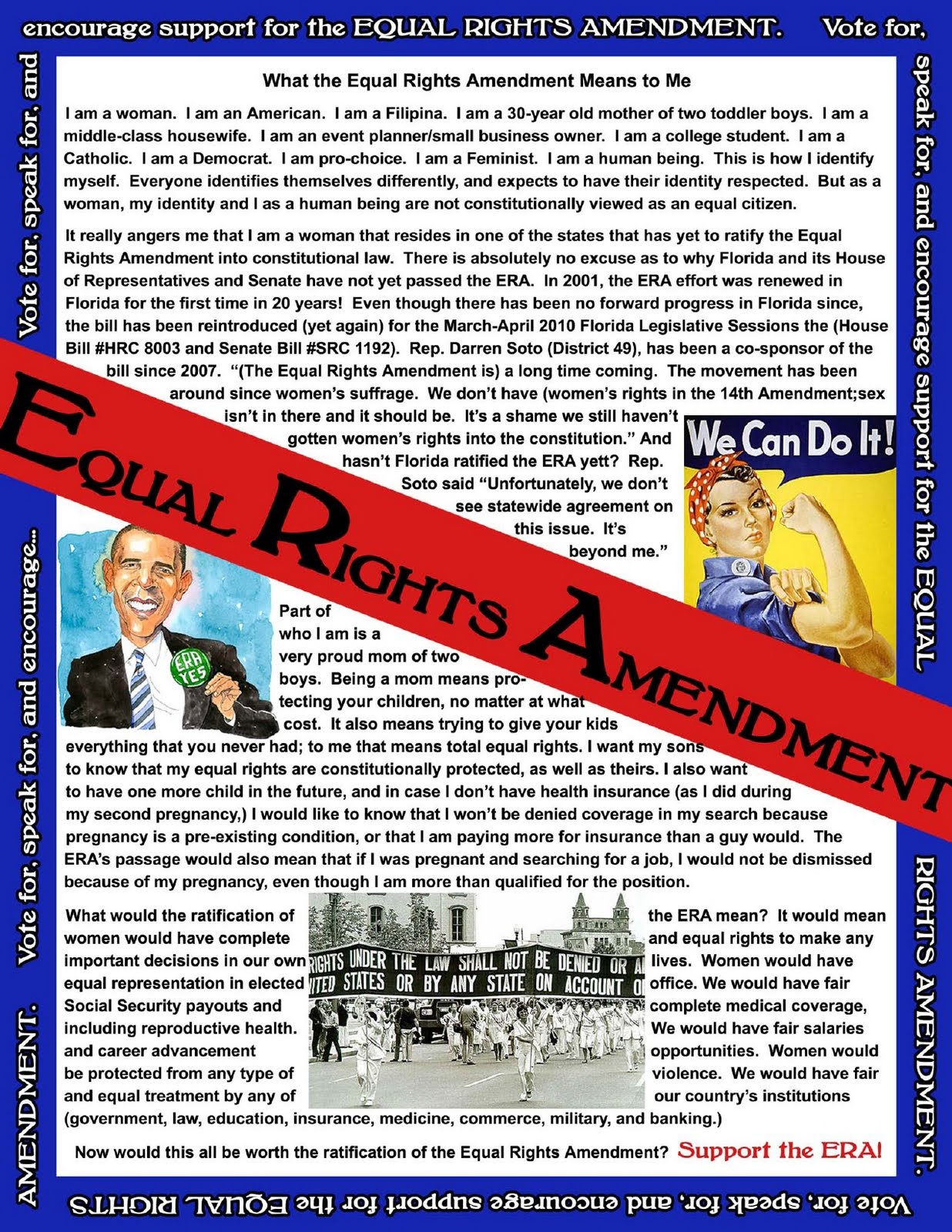 Equal Rights Amendment -- Diana-Marie Martin, Spring 2010 ...