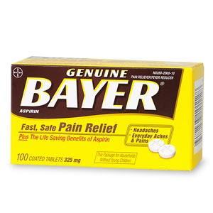 Pills That Make You Smarter >> Mommy's Wish List: Free sample of Bayer Aspirin.