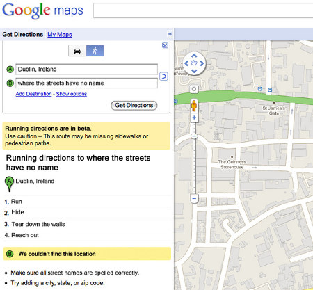 High Heels and t Dr. Pepper: Google Map Song Lyrics on