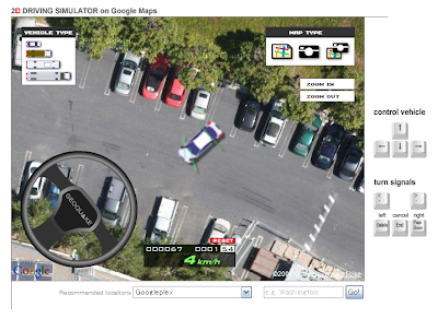 Google Maps Platform: Simulating Driving on Google Maps