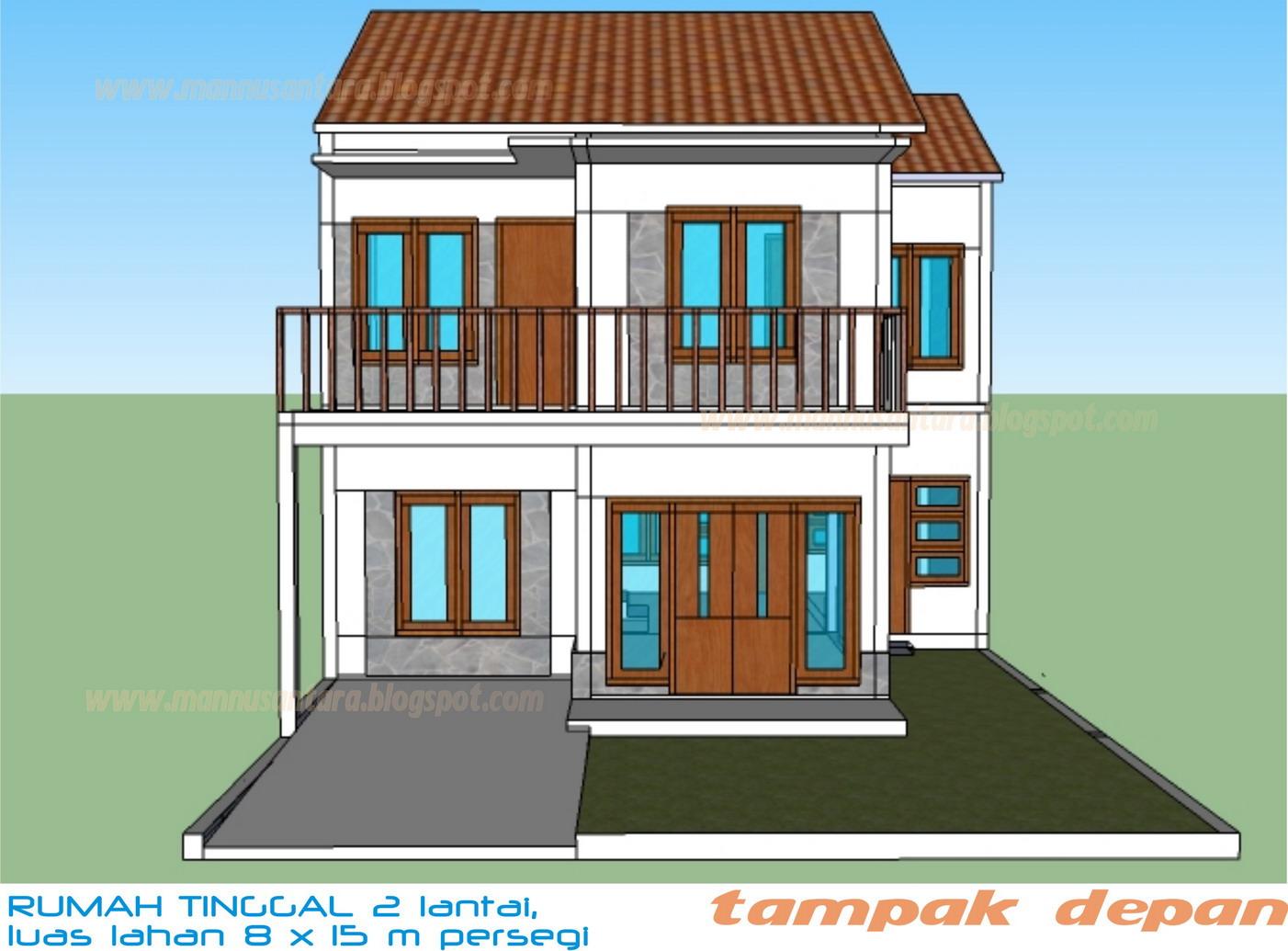 Gambar Rumah Modis Update Rumah Minimalis 8 X 15