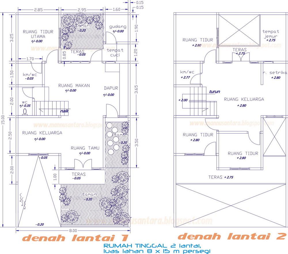Desain Rumah Minimalis Ukuran 10 X 12 M