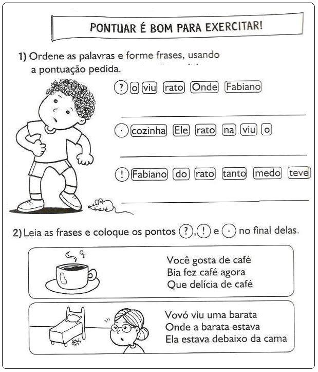 Janelinha De Atividades Atividades De Português Para Imprimir 2º Ano