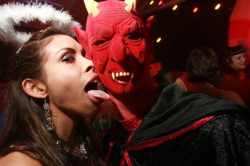 Flesh and fantasy swingers halloween ball