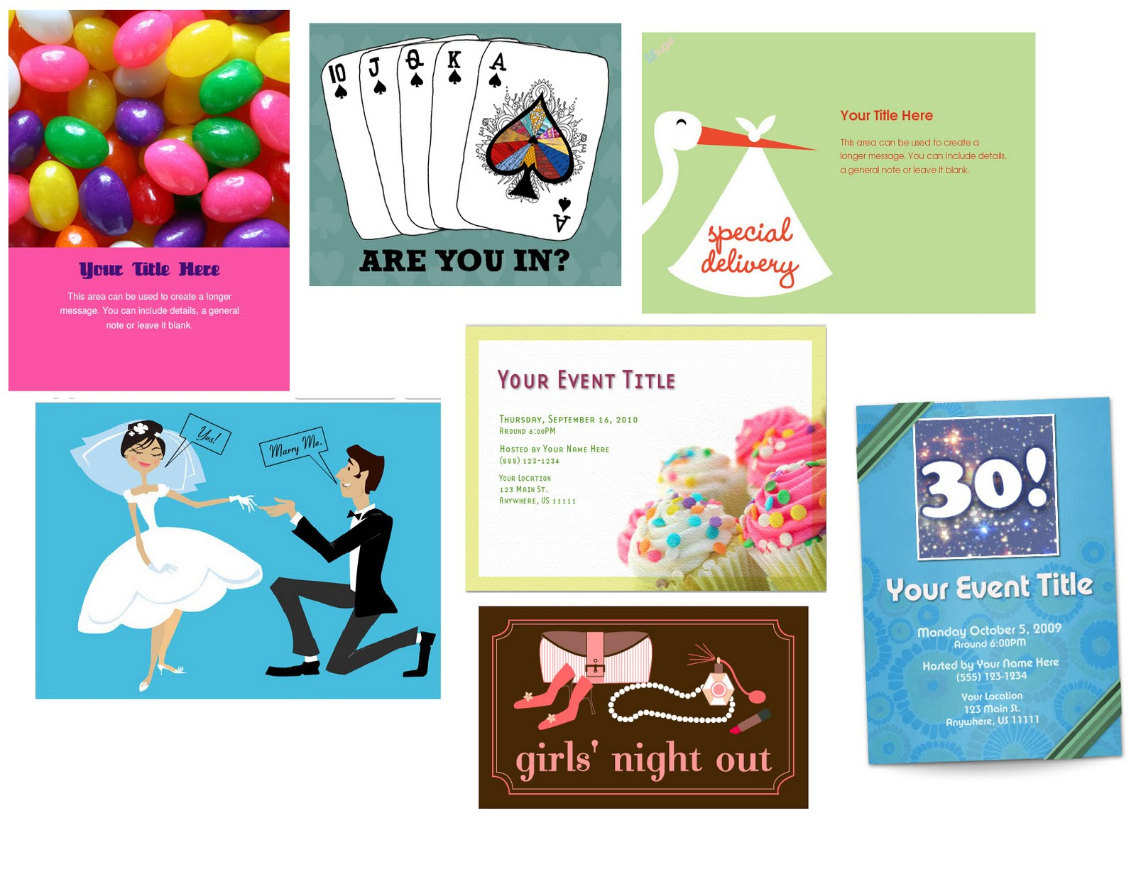 15 minute party planner electronic invites save time and money
