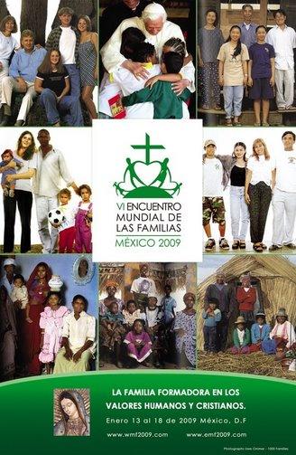 Ya te puedes inscribir al Encuentro Mundial de las Familias 2009 haciendo clic en la imagen