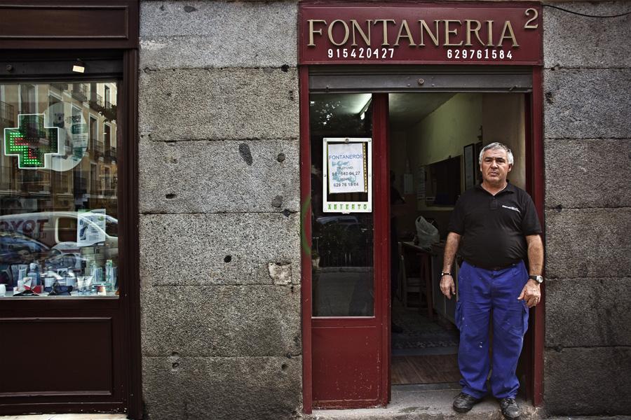 Tiendas de Barrio: Hermanos Ortega Villaizán. Fontanería.
