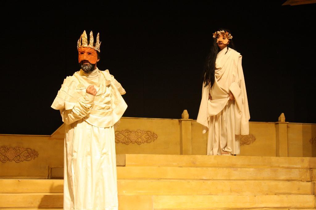 beanbag tales: Oedipus Rex - A Pictorial