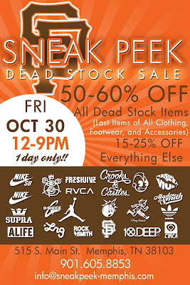 SNEAK PEEK - MEMPHIS: Sneak Peek - Deadstock Sale - 1 Day