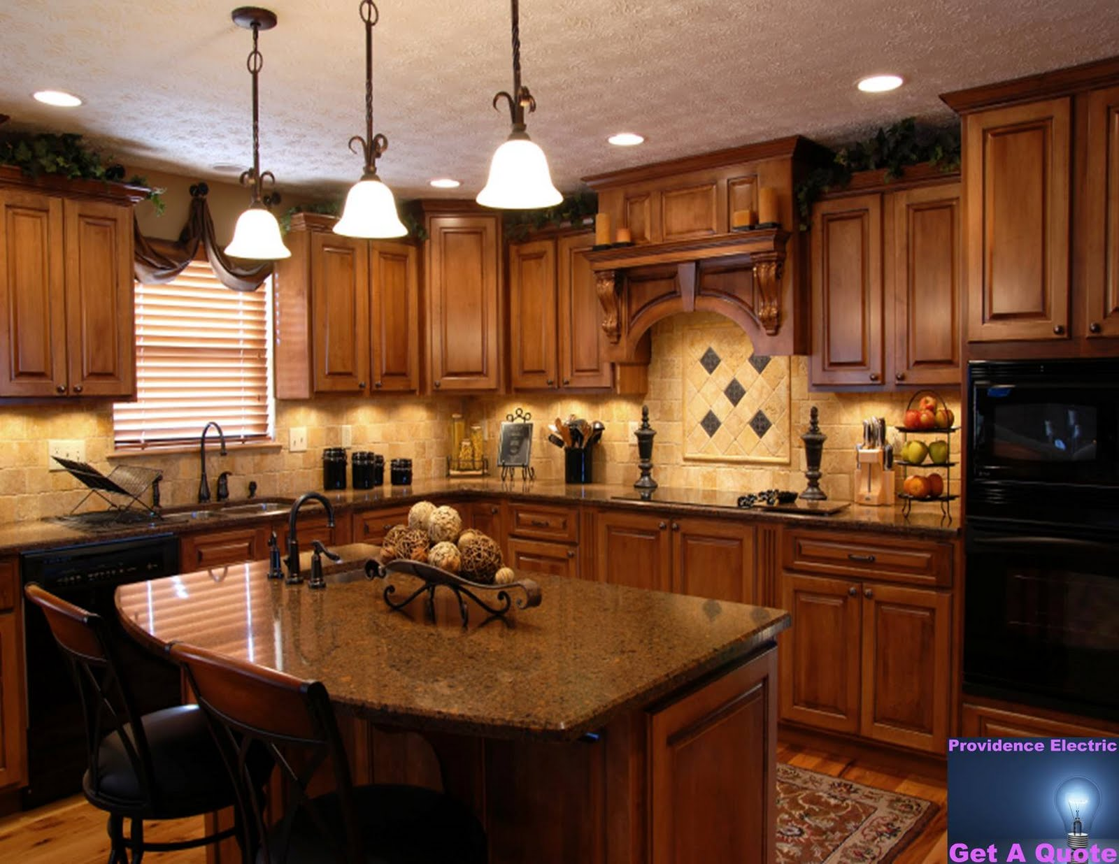 Kitchen Cabinets Remodel Warehouse Design Notes Makeover On A Budget Lighting
