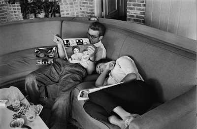 actor james dean reading