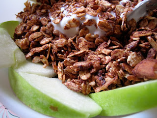 low fat cocoa granola | everybody likes sandwiches