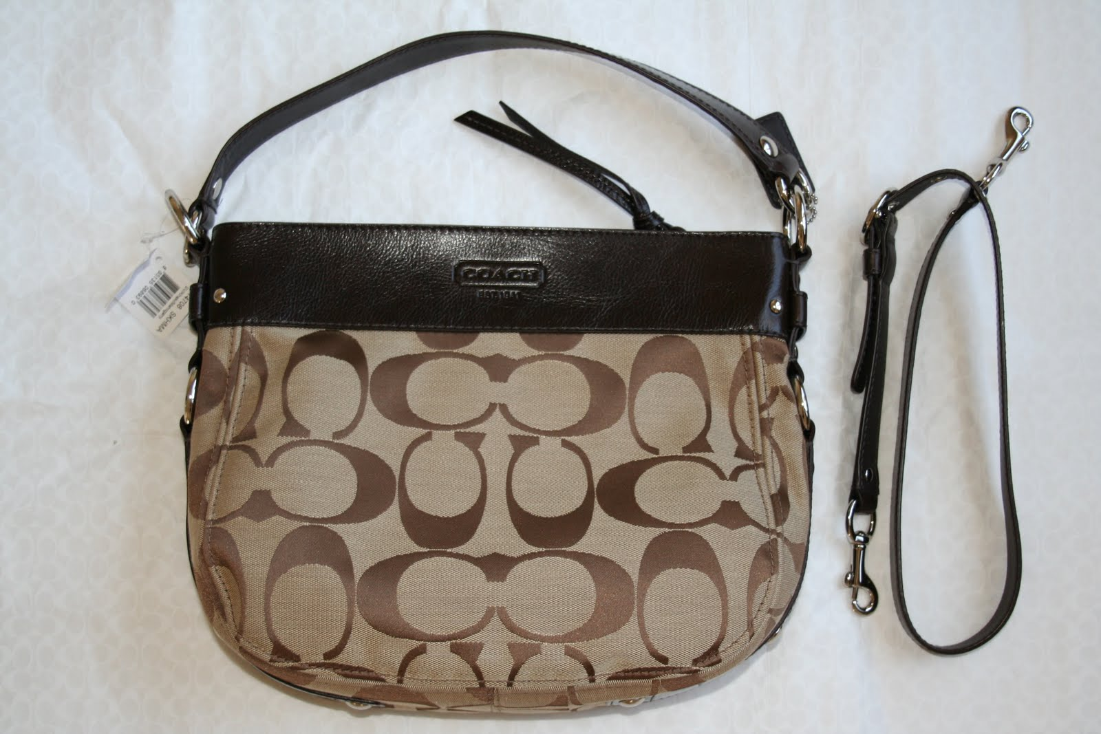 83b01138e09a4 Luxury Bags For Sale  NWT Coach Signature Convertible ZOE -  14708