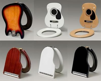 Incredible Entertainment Connect Guitar Toilet Seat Cover Machost Co Dining Chair Design Ideas Machostcouk