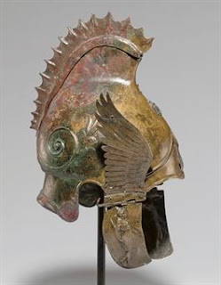 ancient Greek art market helmet