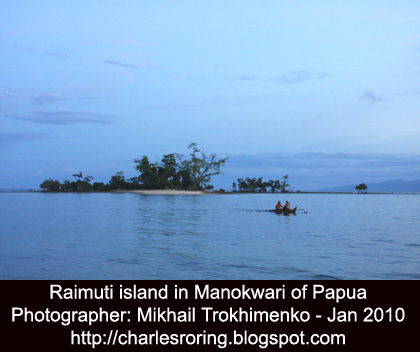 Traveling and snorkeling in Manokwari