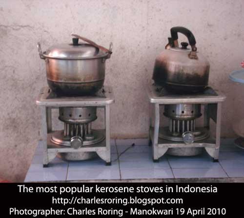 Aluminum stove in Indonesia