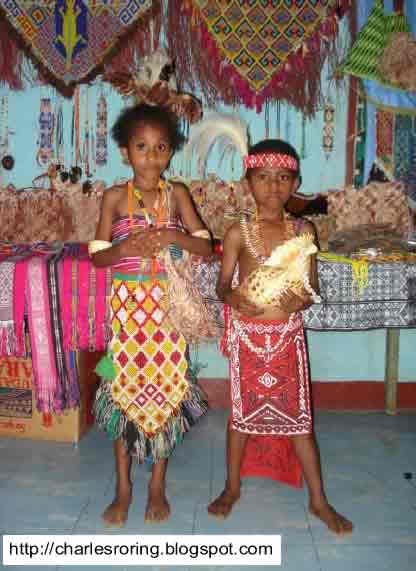 West Papuan tribal clothing