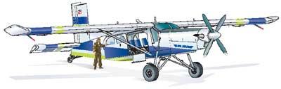 Pilatus porter airplane