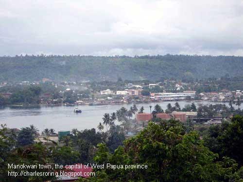 Pemandangan Kota Manokwari