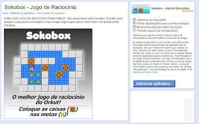 Sokobox, jogo de raciocínio