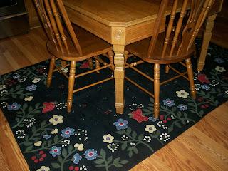 Ohio Farm Girl New Wool Kitchen Rug
