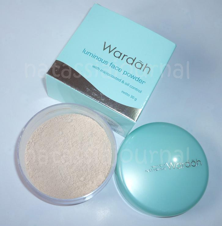 Natassia Journal: Wardah Luminous Face Powder
