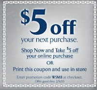save 5 at things remembered with this coupon through 2910 can be used in stores and online