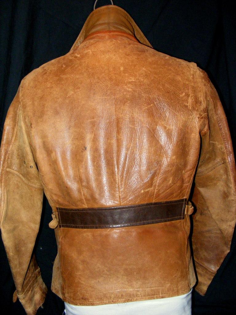 Half leather jackets