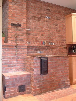 Ideas For Brick Architecture Thermal Mass Oven Made Of