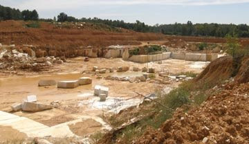 On The Way Home We Took A Side Trip To Find Quarry For Alabama White Marble