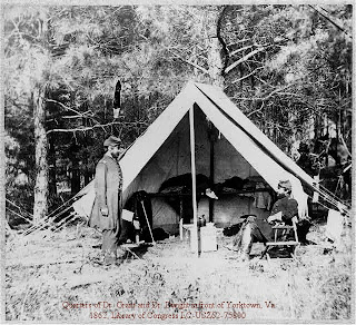 3rd Arkansas Co H Reenacting Group Camp Seating