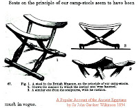 3rd Arkansas Co. H Reenacting Group: Camp Seating