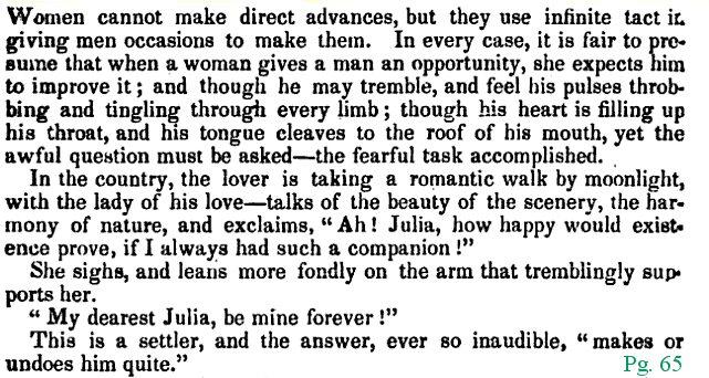 World Turn\u0027d Upside Down Mid-1800s/ Civil War Era Marriage Proposals