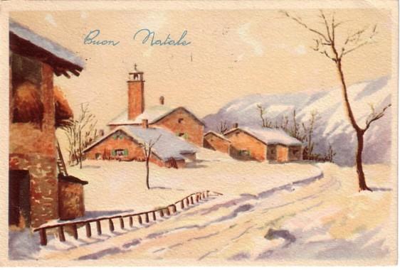 Auguri Di Natale Anni 50.U T E Sacile Natale Di Altri Tempi
