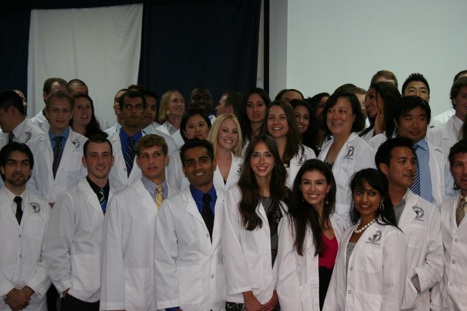 Med School Caribbean Style Auc White Coat Ceremony Photos