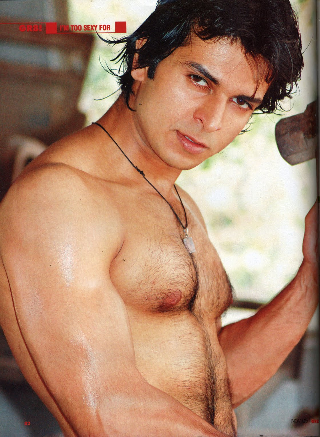 Shirtless Bollywood Men Ankur Nayyar-3187