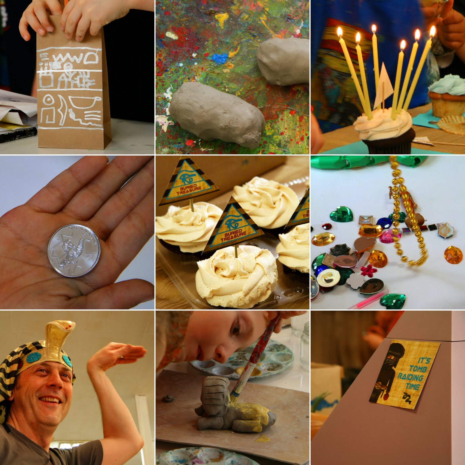 Weelife: Birthday Party: Egyptian Theme