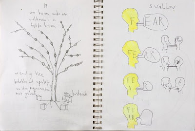 Job Koelewijn  Untitled, 1996-2007 Pencil and pen on paper 21 x 29.7 cm