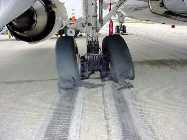 What if the aircraft did not remove parking brake