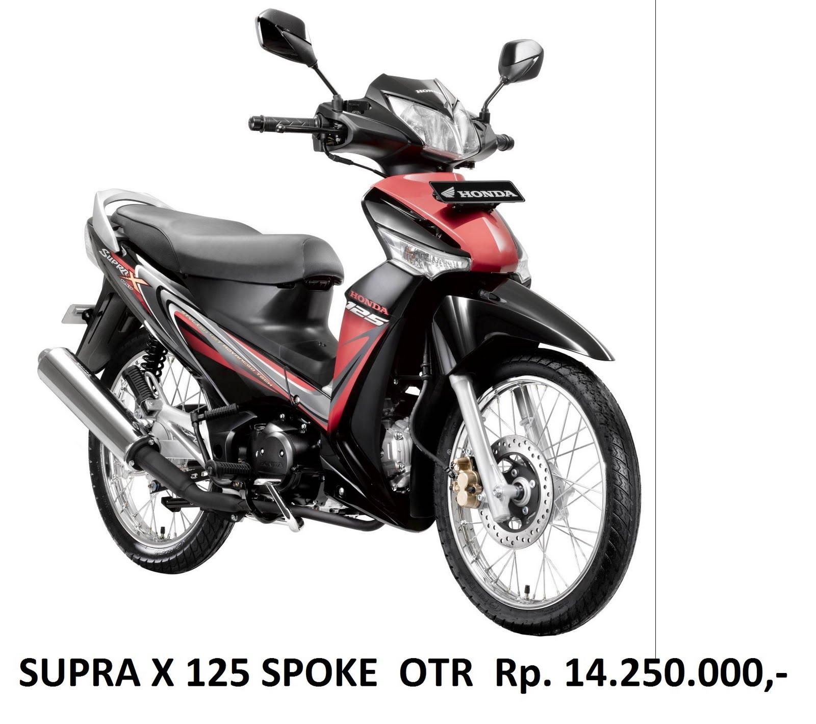 Sepeda Motor Honda Daftar Harga Sepeda Motor Honda